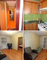 1-2-3-4-хкомнатные квартиры на сутки,  часы в ЖЛОБИНЕ.  +375255463095