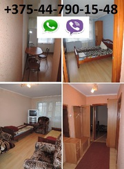 ЖЛОБИН. Квартира на часы,  сутки.Мк-н 16,  д.26(двушка) Т. +375447901548
